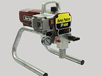 airless painting equipment spraytech