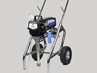 2hp airless paint sprayer piston pump