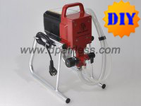 portable airless paint spraying kit