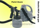 electric paint sprayer with brass nozzle