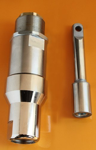 stainless steel pump body, piston rod
