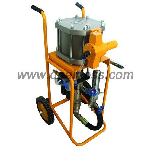 Pneumatic airless paint equipment pneumatic airless for Air or airless paint sprayer