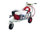 Airless line striper, airless road striping machine