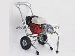 Gas engine powered airless paint sprayer equipment