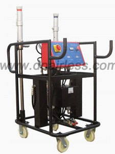 air-compressor powered pneumatic polyurea sprayer