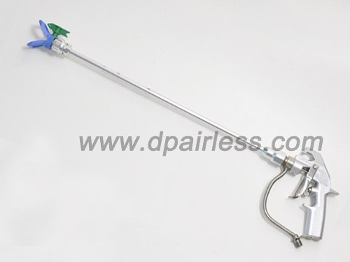 silver plus airless gun with 50cm extension