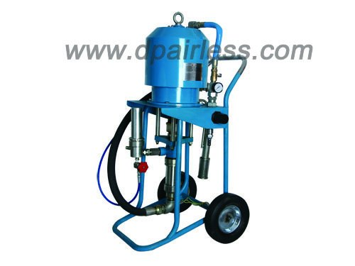 Air assisted pneumatic airless paint sprayer airless for Air or airless paint sprayer