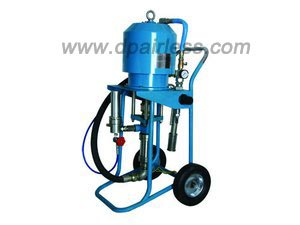 pneumatic airless pump painting system