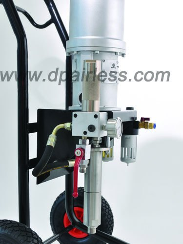 pneumatic airless sprayer equipment