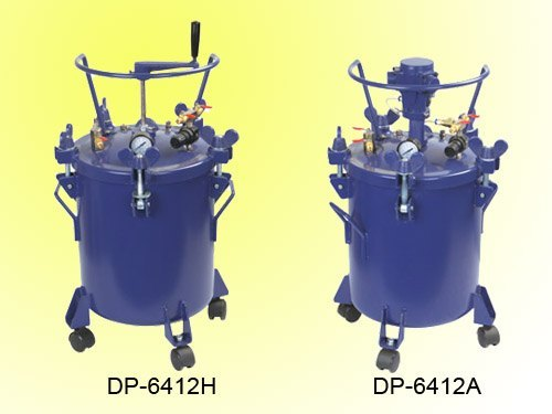 20L paint tanks air agitator manual mixer