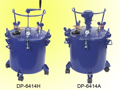 40Liters painting tanks automatic manual agitator