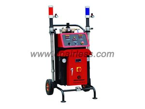 Foaming spraying equipment