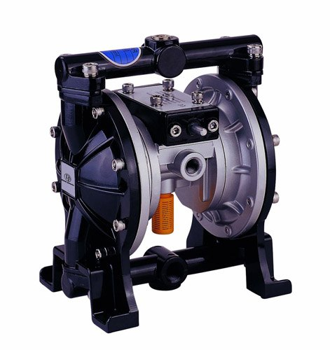 black double membrane pump