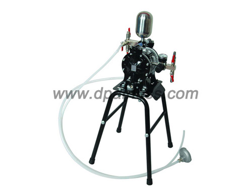 double diaphragm pump system