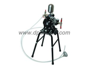 double membrane pneumatic airless sprayer system