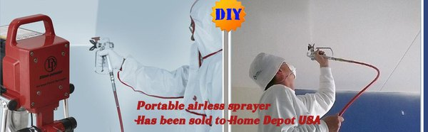 DIY airless paint sprayers
