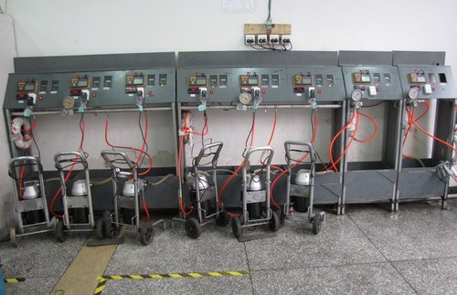 airless equipment testing device