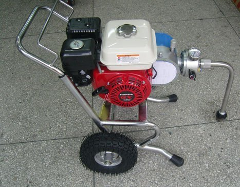 honda engine airless painting equipment