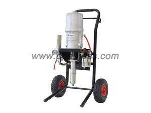 pneumatic airless sprayer painting system
